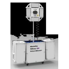 Système de désinfection mobile par LED UVC : 4BAY-UV 200 W