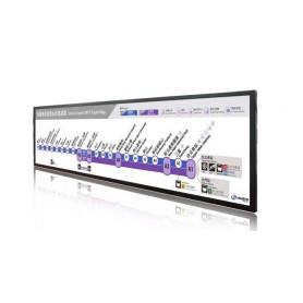 "Ecran 67"" LCD avec résolution 3840 x 1076 : SSD 6740-V1"