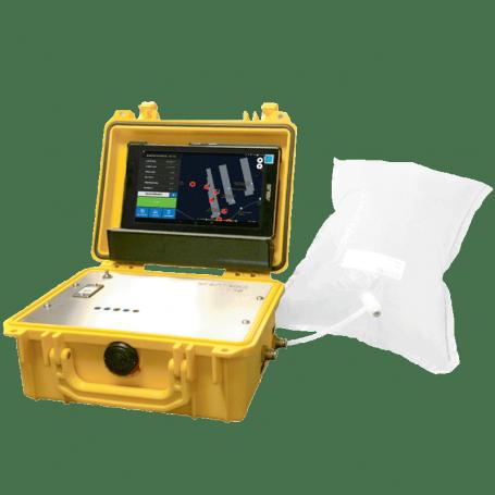 Laboratoire portable qualité air : Pollutracker TR8+