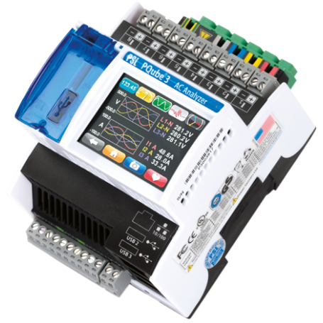 Analyseur de puissance dédié aux réseaux électriques : PQUBE 3