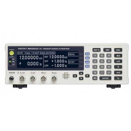 Testeur de batterie 0.1 mΩ pour mesure de résistance : HiTESTER RM3543