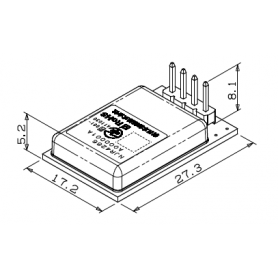 Module de capteur Doppler en bande K : Série NJR4266