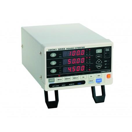 Wattmètre monophasé de haute précision : 3333/3334