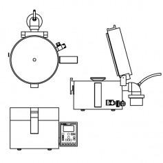 Option de montage pour Spin Coater série WS-650 et EDC-650