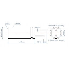 Supercondensateur radial 2,7 V / 3.0 V / 5,5 V : Série SC