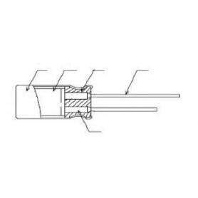 Condensateurs électrolytiques solides en aluminium : Série AREP