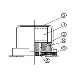 Condensateurs polymère solide basse tension : Série AVEA
