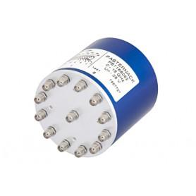 Commutateur éléctromécanique à relais DC à 18 GHz SP12T : Série PE71S608X