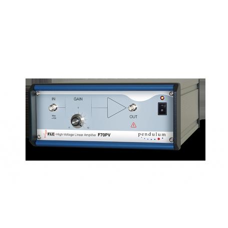 Amplificateur de tension, 1 voie, 10x/variable, unipolaire +70V 2A : F70PV