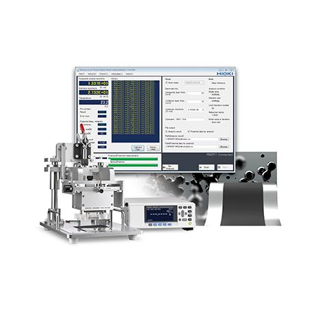 Système de mesure et d'analyse résistive des couches d'électrode dans les batteries lithium-ion : RM2610