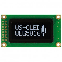 Afficheur standard OLED graphique : Série WEG