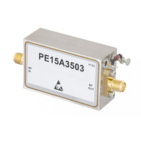 High Gain Wideband Amplifiers : Série PE15Axxxx