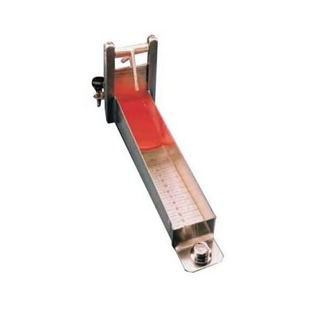 Consistomètre de Bostwick longueur de la cuvette 24 cm