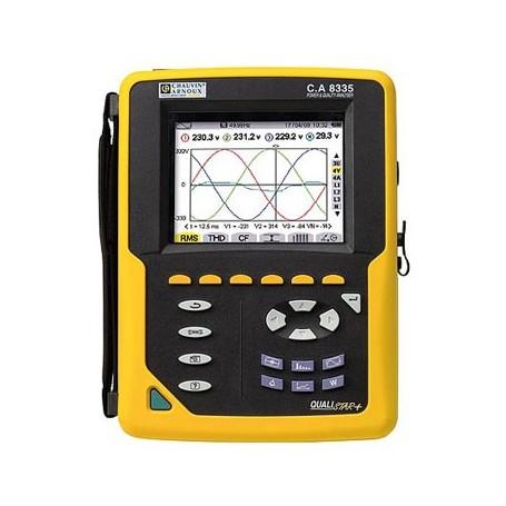 Enregistreur et analyseur de puissance et d'énergie : C.A 8335 QUALISTAR PLUS