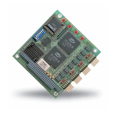 Module PC/104 4 ports RS-232 : PCM-3640