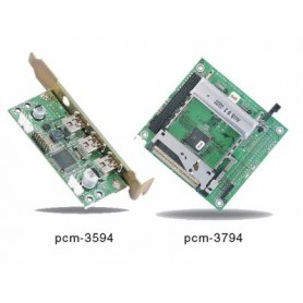 Module PCI-104 2 slots PCMCIA : PCM-3794/3594
