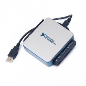 782606-01 : USB-6002 Boîtier d'E/S multifonction 16bits, 50kéch./s et driver NI-DAQmx