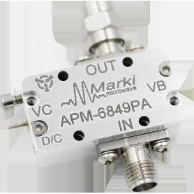 Amplificateur bas bruit de phase (00,1-30GHz) : Série APM