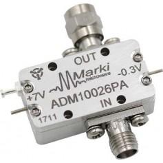 Amplificateur large bande 00,5 - 26,5 GHz : ADM1-0026PA