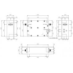 Amplificateur Faible Bruit : LNA1010 (rack)