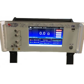 Microhmmètre de table 5 mΩ à 2,5 kΩ : OM27