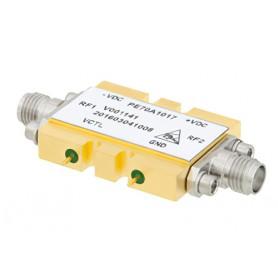 Atténuateur variable en tension (2,2-20 GHz) : Série PE70A