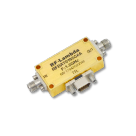 Atténuateur à paliers programmable 0,10-30 GHz : Série RFDAT