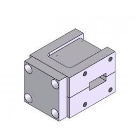 Isolateur guide d'onde (4,4-100 GHz) : Série JIWRx