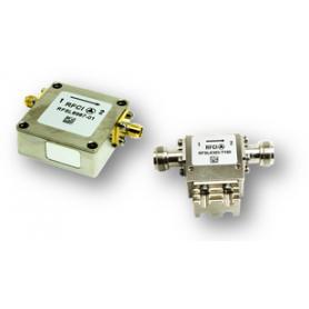 Isolateur coaxial type N bande étroite (0,2-6,2 GHz) : Serie RFSL