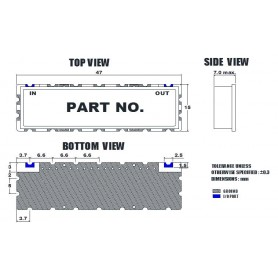 Filtre passe-bas : MLP-20-530M_510MS-B