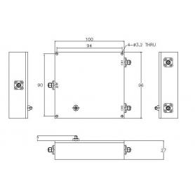 Diplexer : MD2500M20W2D
