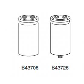 """Condensateur Electrolytique Aluminium """"Screw-Type"""" : B43706, B43726"""