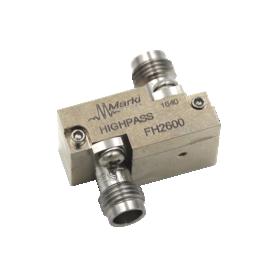 Filtre passe-bas avec fréquence de coupure à 3 dB : Série FLP