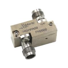 Filtre passe-haut avec fréquence de coupure à 55 GHz : Série FH