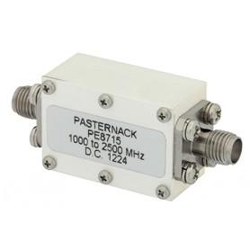 Filtre passe-haut jusqu'à 18 GHz : Série PE87