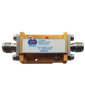 Filtre passe-haut de DC à 60 GHz : Série HP