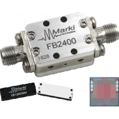 Filtre-passe bande avec fréquence de coupure à 45,6 GHz : Série FB