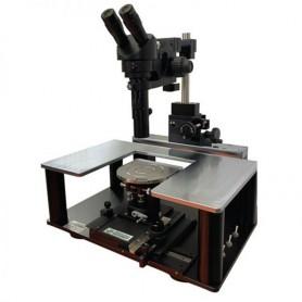 Station de test sous pointes manuelle : Fibre Optique
