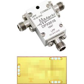 Diplexer de DC à 40 GHz : Série DFX