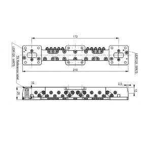 Duplexeur en guide d'onde : Série RWDUP