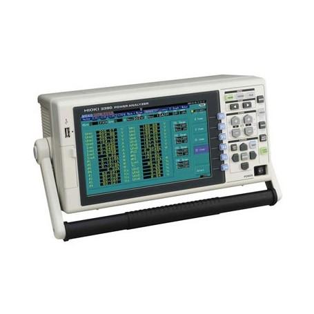 Analyseur de puissance électrique haute précision +/-0,04% - DC, 0.5 Hz à 200 kHz : PW3390