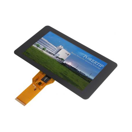 Afficheur TFT avec écran tactile capacitif projeté : Série PH