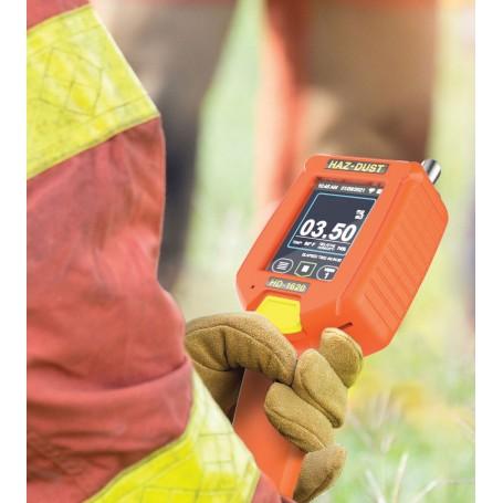 Contrôleur portable multiparamètre particules PM respirable : HD-1620