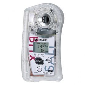 Réfractomètre numérique Brix – Salinité : PAL-BX-SALT