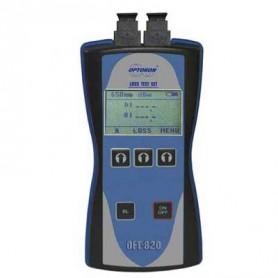 Kit de test pour fibres plastiques : OFT 820-POF
