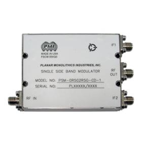 Modulateur single sideband de 0,5 à 9 GHz : Série PIQM / PSM