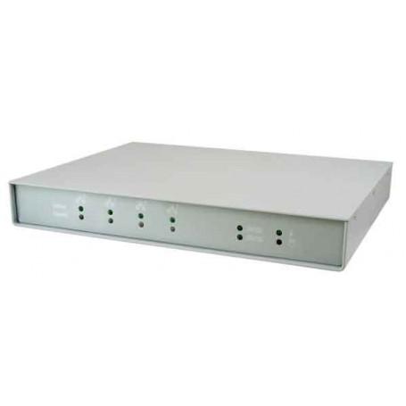 Entry Level Intel Atom N270 Based Fanless Network Appliance w/ 4 GbE Ports : FWA6104
