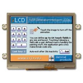 Module tactile couleur 77x64x9 mm : DPP-CTP3224-x