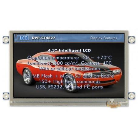 """Module tactile couleur 4.3"""" 480 x 272 : DPP-CT4827"""