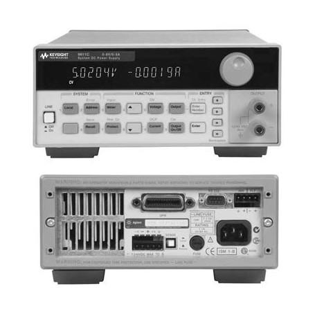 Alimentation DC GPIB Simple sortie 40W et 50W : Série 6610C